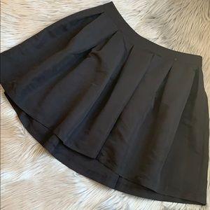 Forever 21+ Black Skirt - 0X